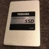 ノートパソコンDynabook分解 カバー外し SSDへ換装(EX87/TG、 SSD 東芝TOSHIBA  Q300